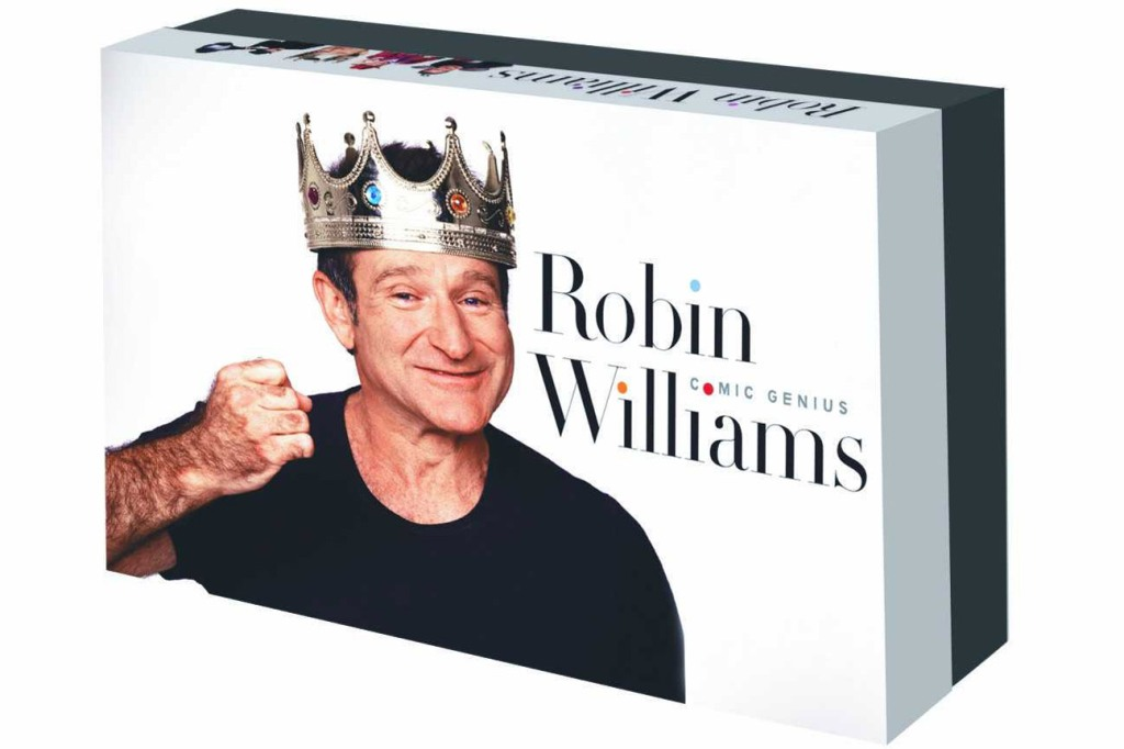 """Robin Williams: Comic Genius"" box set. Photo: Courtesy of Foundry Communications"