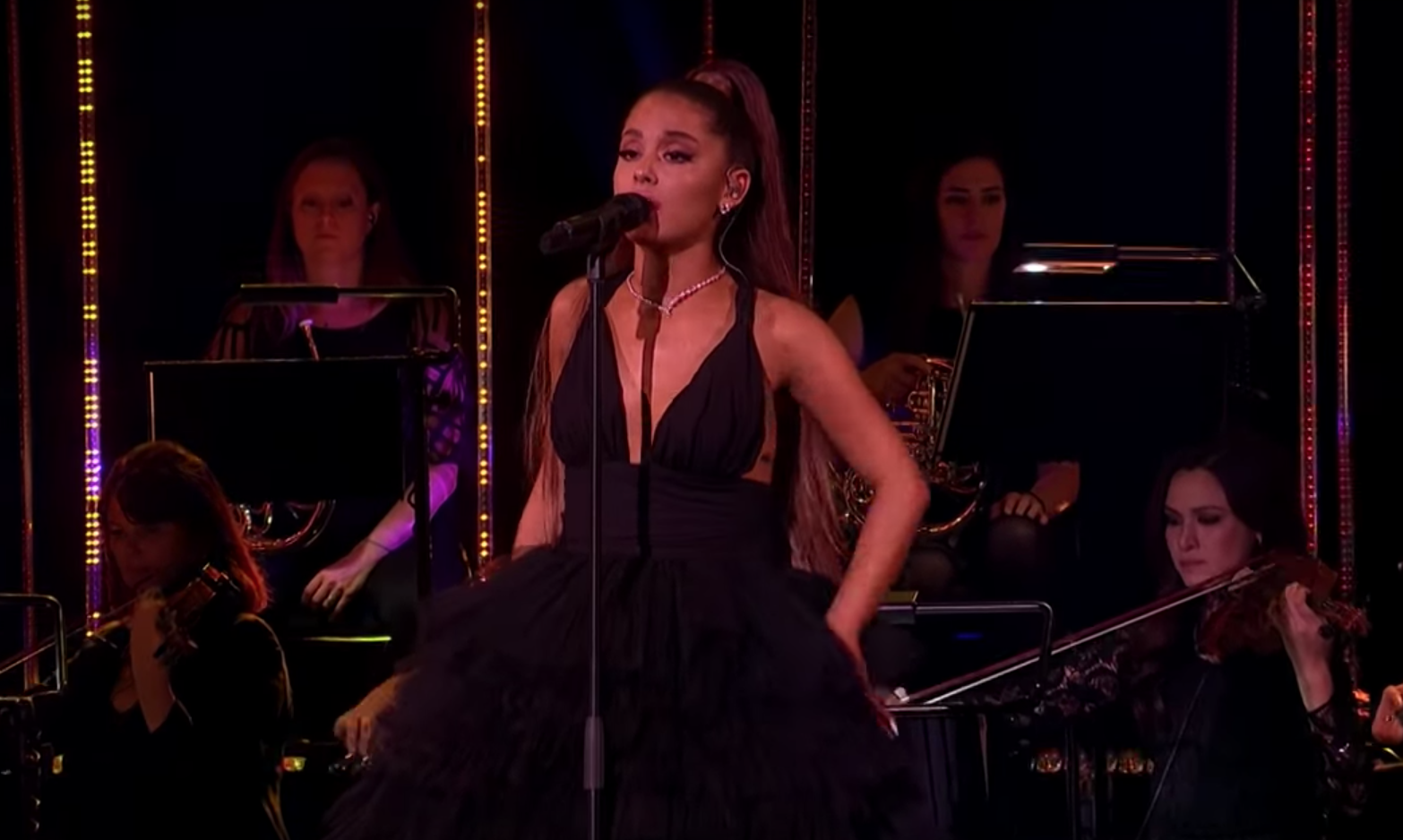See Ariana Grande Perform God Is A Woman With All Female Orchestra Rolling Stone