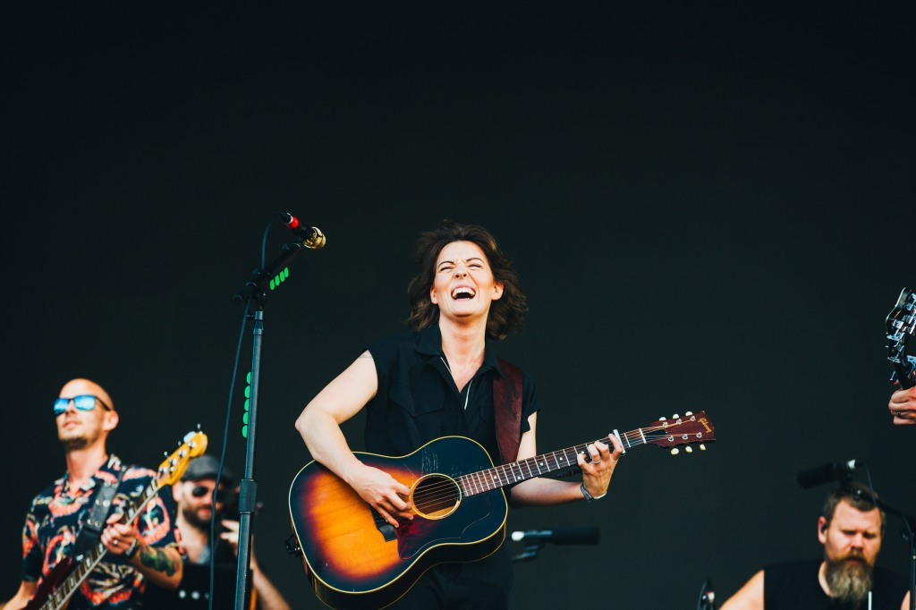 Brandi Carlile perfroms at ACL 2018.