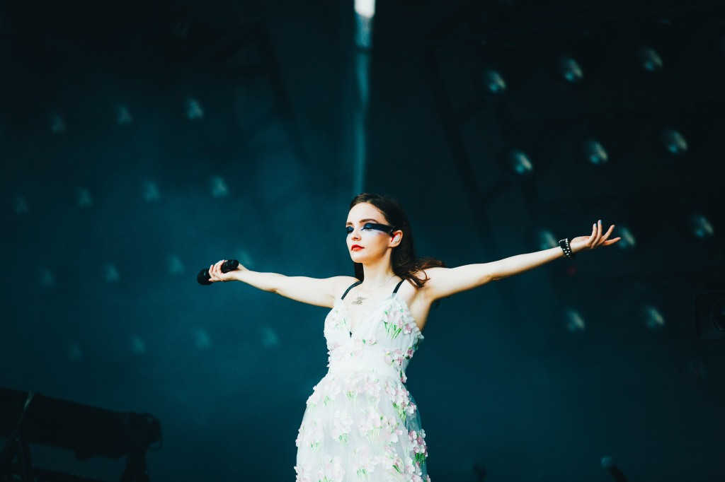 Chvrches' Lauren Mayberry owns the stage at ACL 2018.