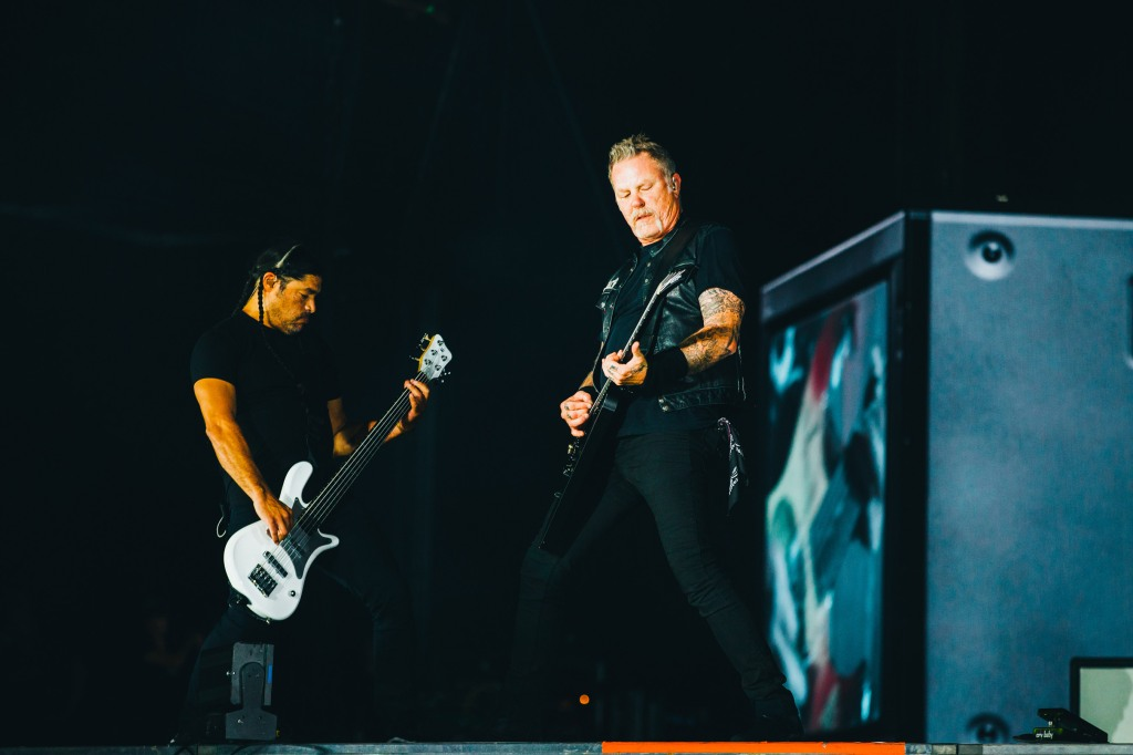 Metallica's James Hetfield and Robert Trujillo rock Austin City Limits 2018, Weekend 1.