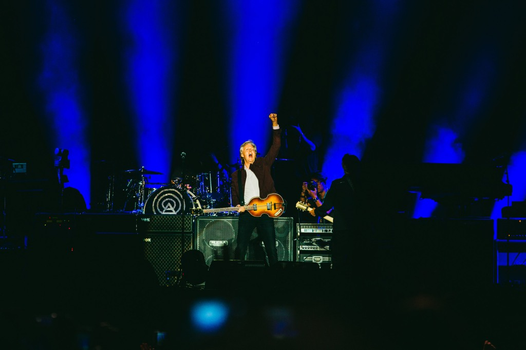 Paul McCartney performed a nearly three-hour set at ACL 2018.