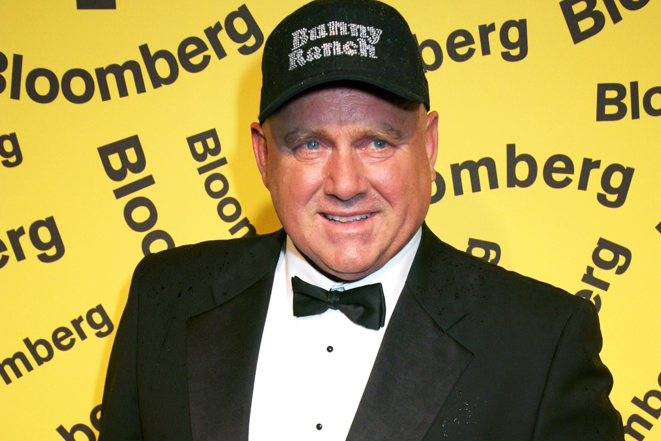 Dennis Hof at The Bloomberg Party after the White House Correspondents' Dinner, 2008