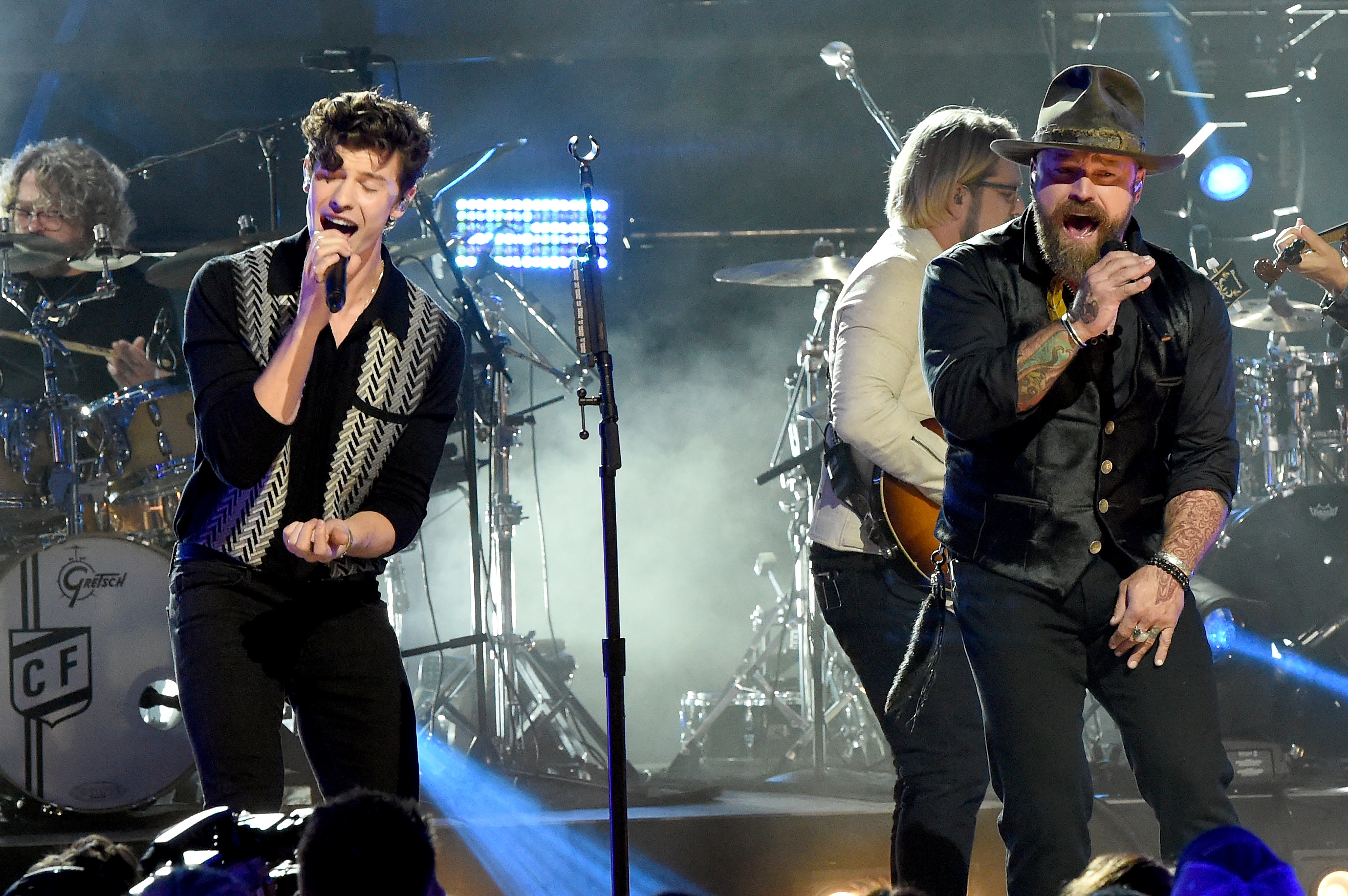 Shawn Mendes on Working With Zac Brown Band on CMT