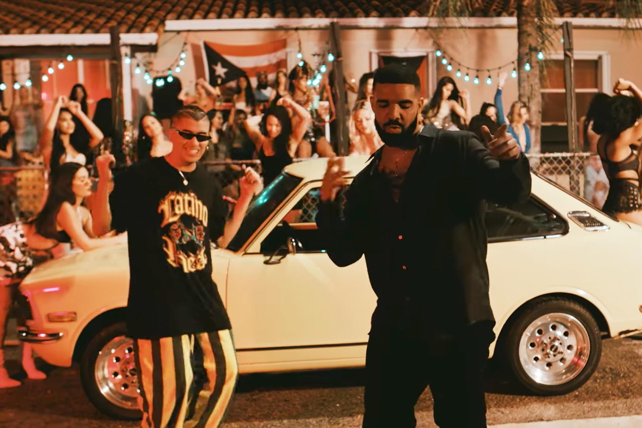 Drake Tests His Spanish on New Bad Bunny Single 'Mia'