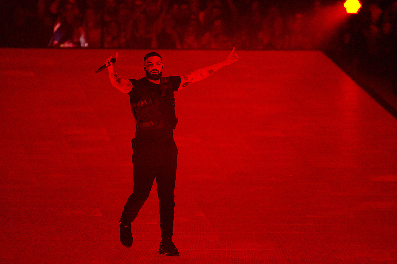 Drake Breaks the Beatles' Record for Most Top 10 Songs in a Year, Cementing His Inescapability