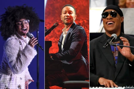 Stevie Wonder Christmas.John Legend Taps Stevie Wonder Esperanza Spalding For