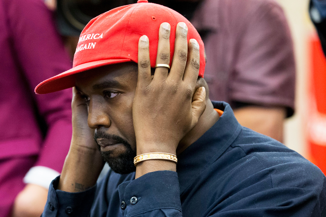 Kanye West Distances Himself From Alt-Right Provocateur