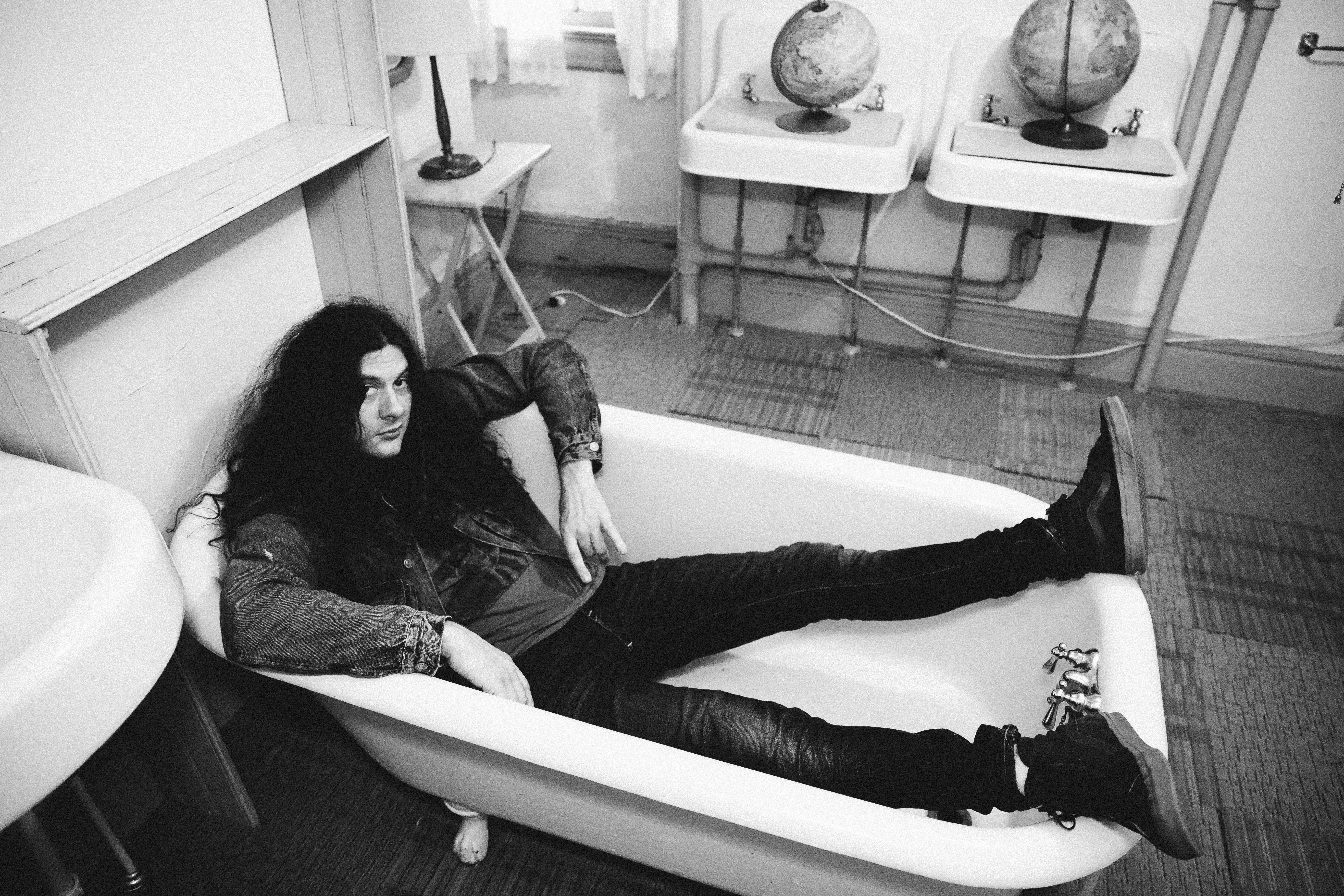 Kurt Vile kicks back in the Catskills before the release of his seventh solo album, 'Bottle It In.'
