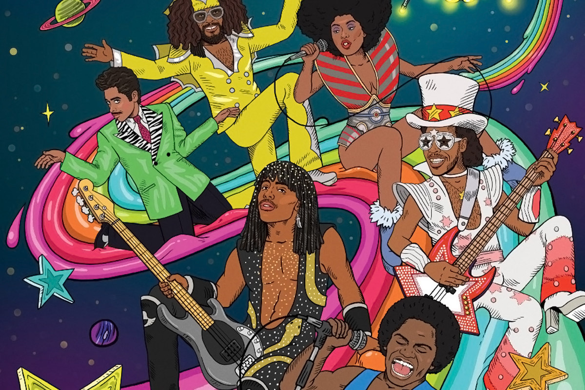 mike judge details funk centric season two of tales from tour bus