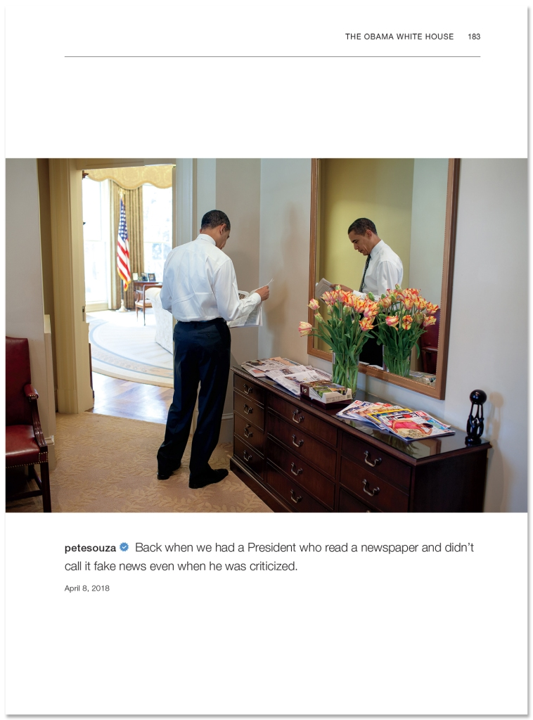 pete souza shade book obama white house