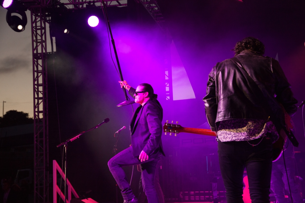 Ian Astbury and Noah Harmon