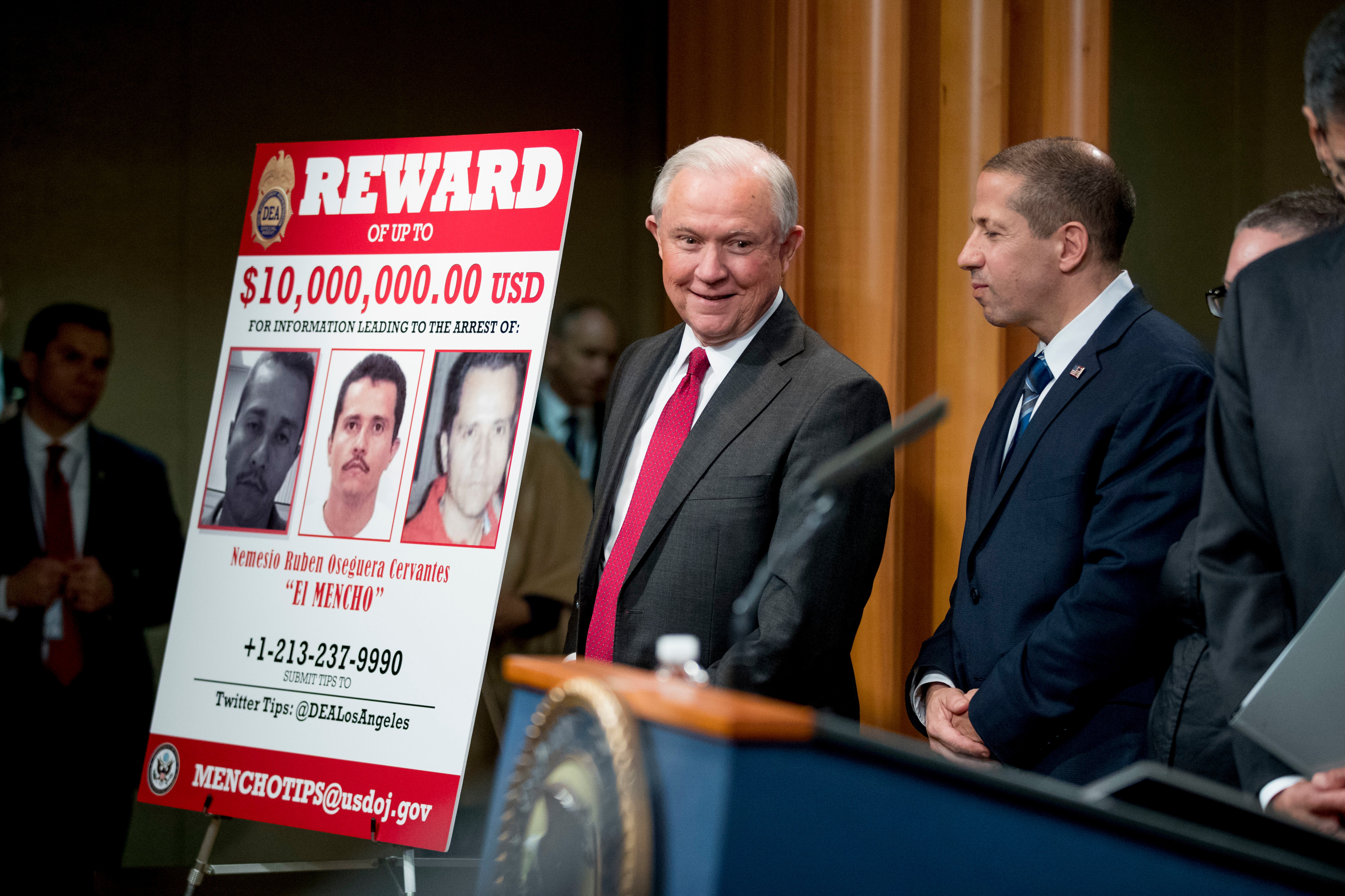 Jeff Sessions Is Cracking Down on One of Mexico's Biggest Drug Cartels