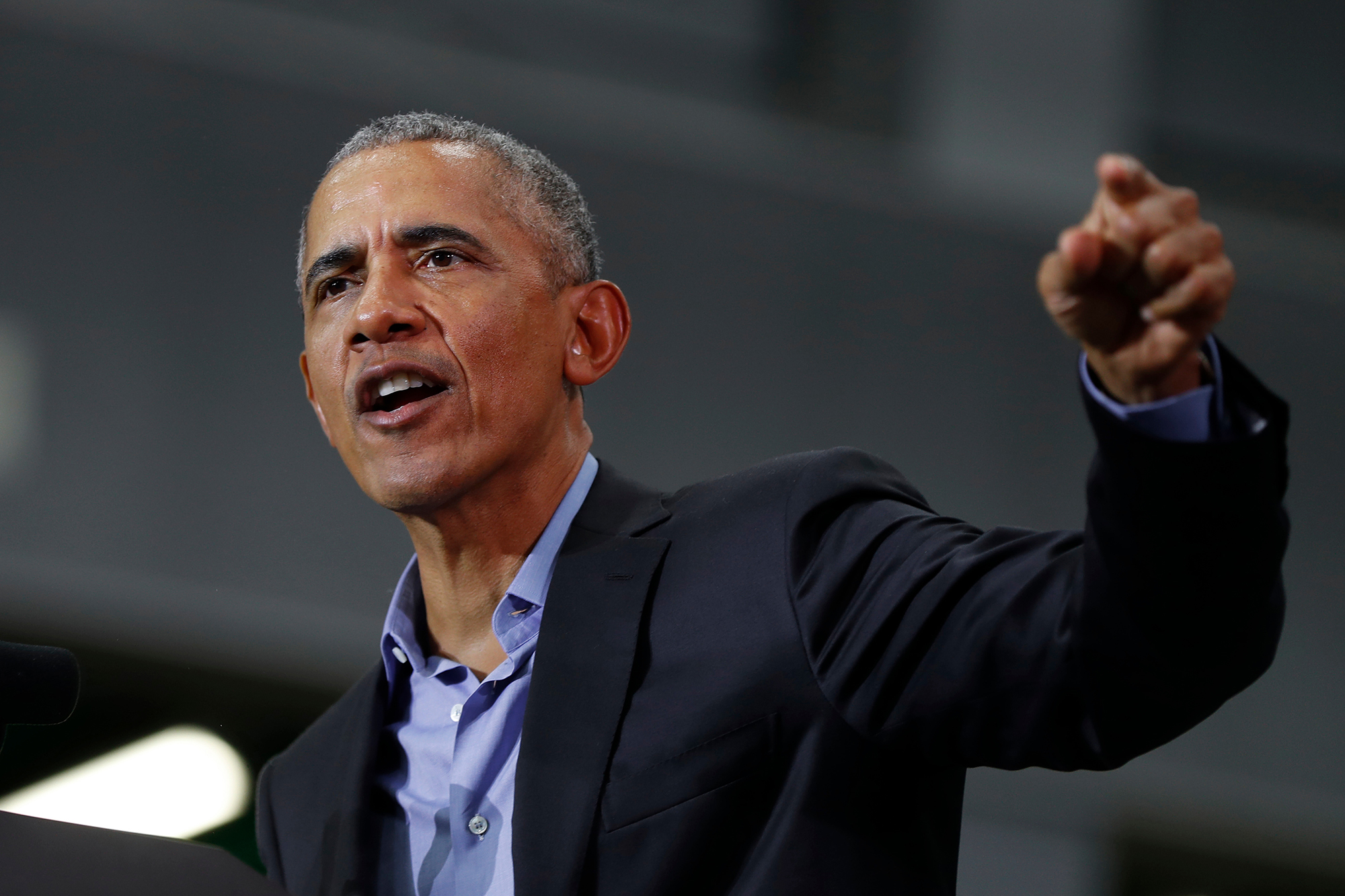 Still Hoping That President Obama >> Barack Obama Delivers Fiery Anti Trump Speeches At Rallies Rolling