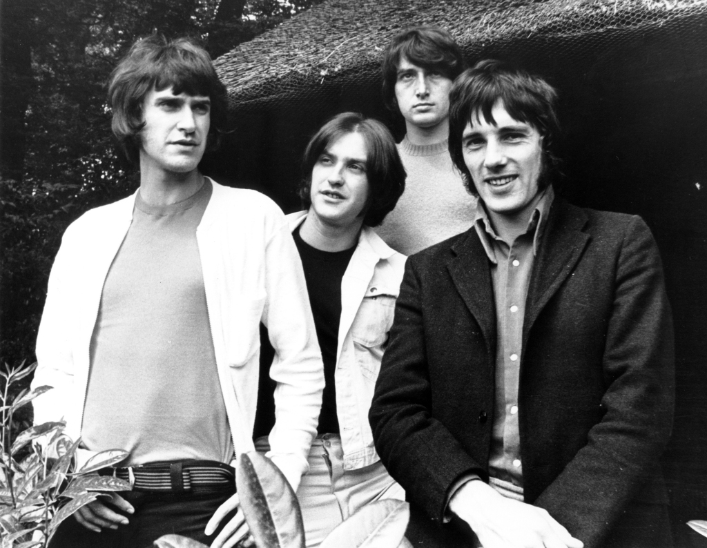The Kinks, 1968 - Ray Davies, Dave Davies, Pete Quaife, Mick Avory (Photo by Chris Walter/WireImage)