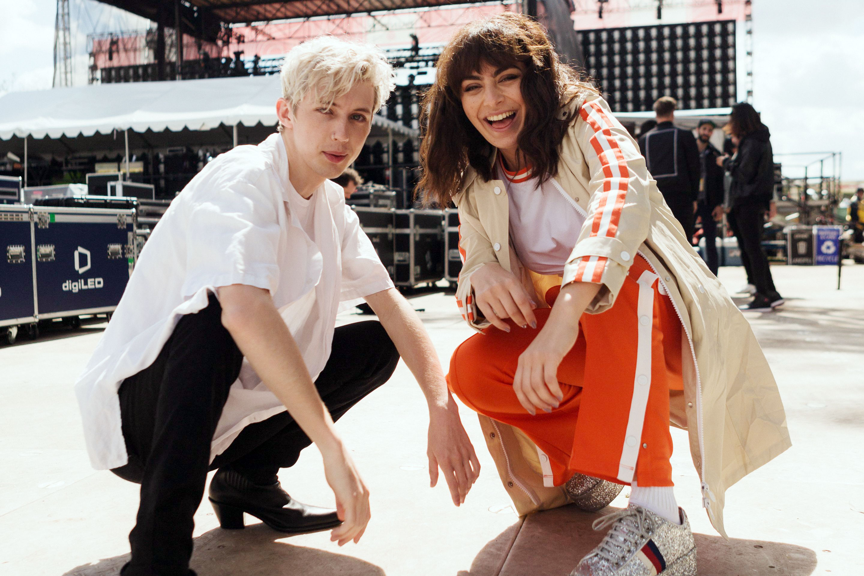 Image result for troye sivan and charli xcx
