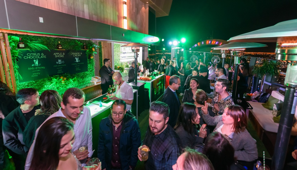 A shot of the terrace at the Rolling Stone Latino presented by Buchanan's Whisky party at the Palms Casino Resort.