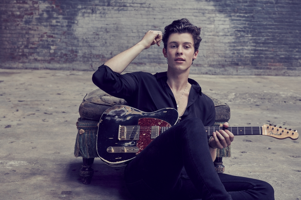 "Shawn Mendes has landed three Number One albums and has 95 arenas booked next year, with stadiums up next on the horizon. His calling cards are catchy, well-crafted pop-rock hits like 2015's ""Stitches"" and 2016's ""Treat You Better,"" where he comes across as an earnest guy who wants more than a fling, the type who'll fly to Japan to convince you he deserves a shot."