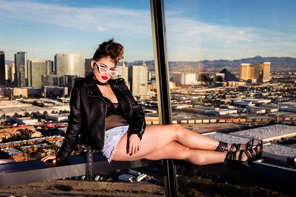 Melymel poses for a portrait at The View at The Palms Hotel and Casino on November 13, 2018 in Las Vegas, NV
