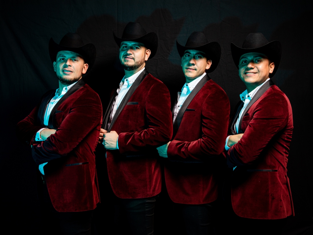 Calibre 50 poses for a portrait backstage at the 19th annual Latin Grammy Awards at the MGM Garden Arena on November 15, 2018 in Las Vegas, NV.