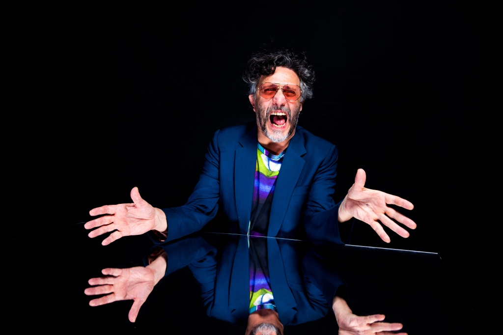 Fito Paez poses for a portrait backstage at the 19th annual Latin Grammy Awards at the MGM Garden Arena on November 15, 2018 in Las Vegas, NV.