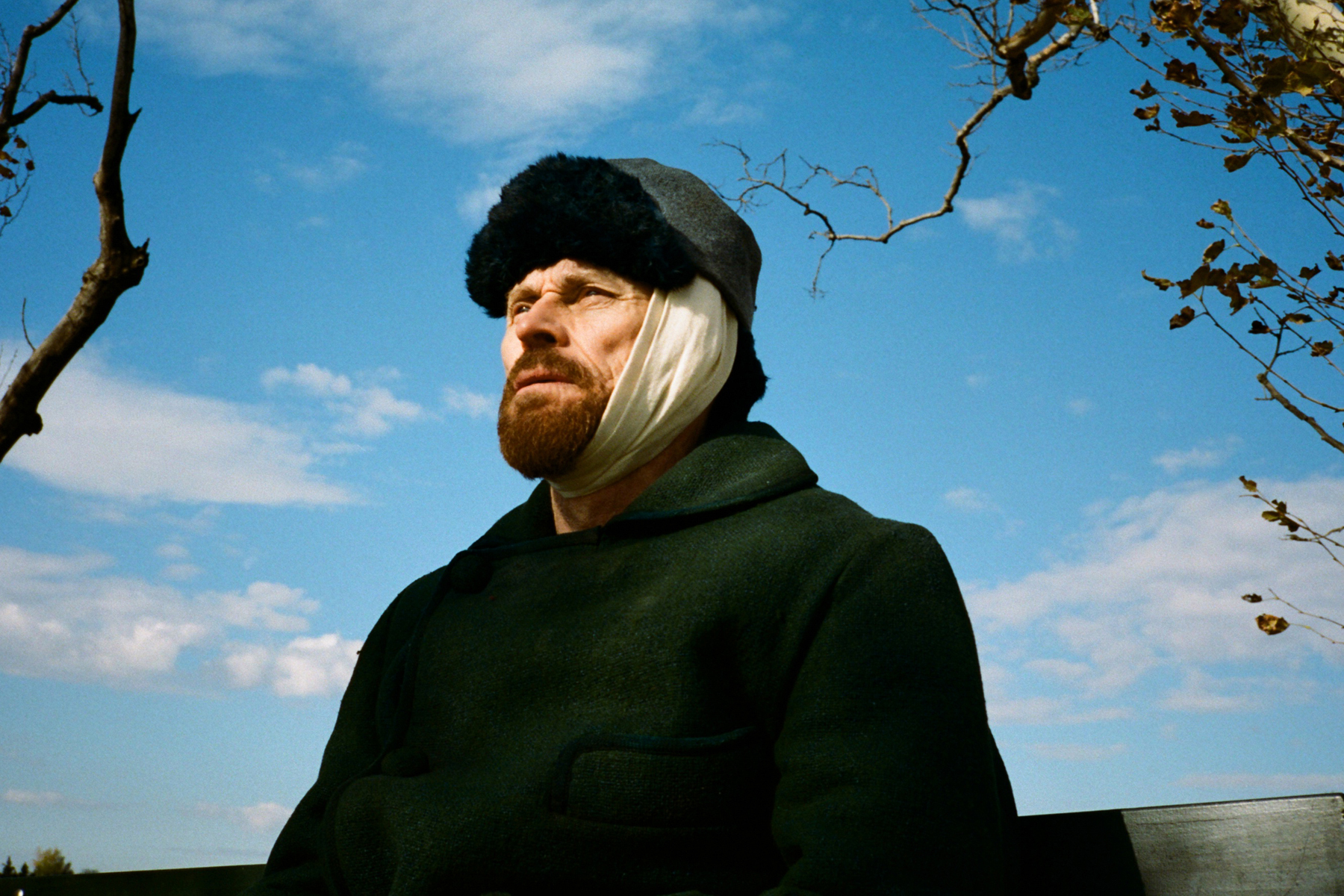 Willem Dafoe as Vincent Van Gogh in Julian Schnabel's 'At Eternity's Gate.'