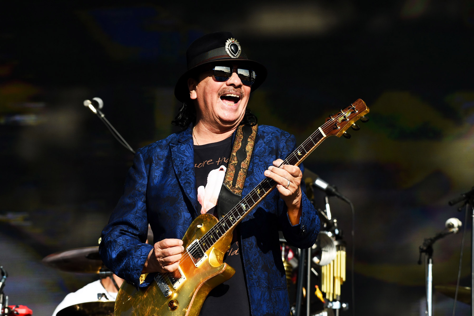 Carlos Santana Plots Tour Coinciding With Woodstock's 50th Anniversary