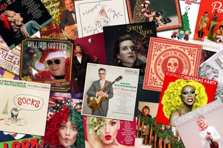 Christmas Album Cover Art.50 New Christmas Albums Reviewed Rolling Stone