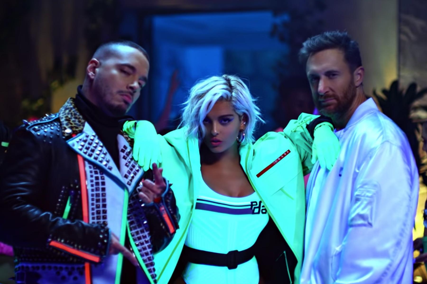 See David Guetta, J Balvin, Bebe Rexha's Colorful 'Say My