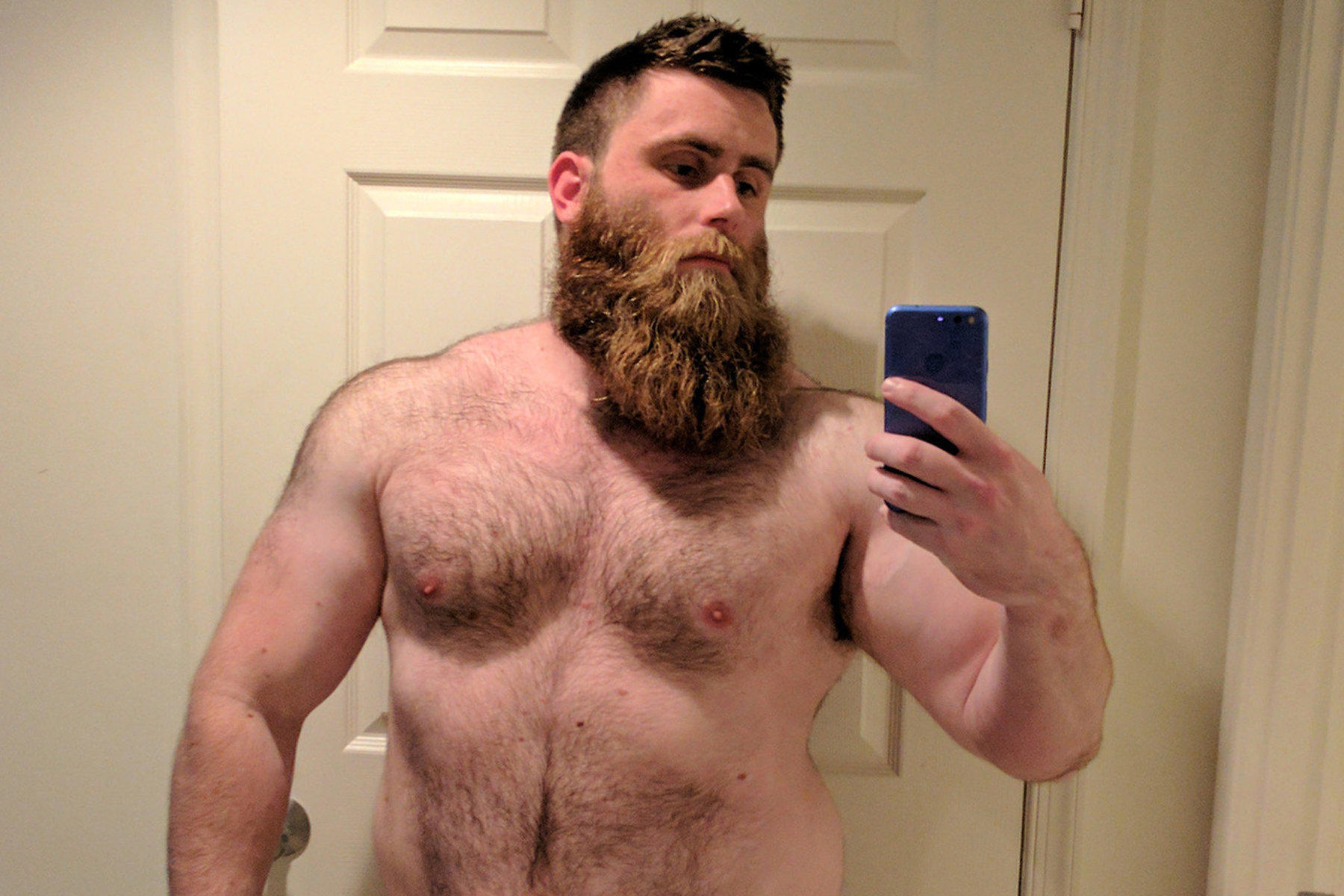 Gay men with big muscles