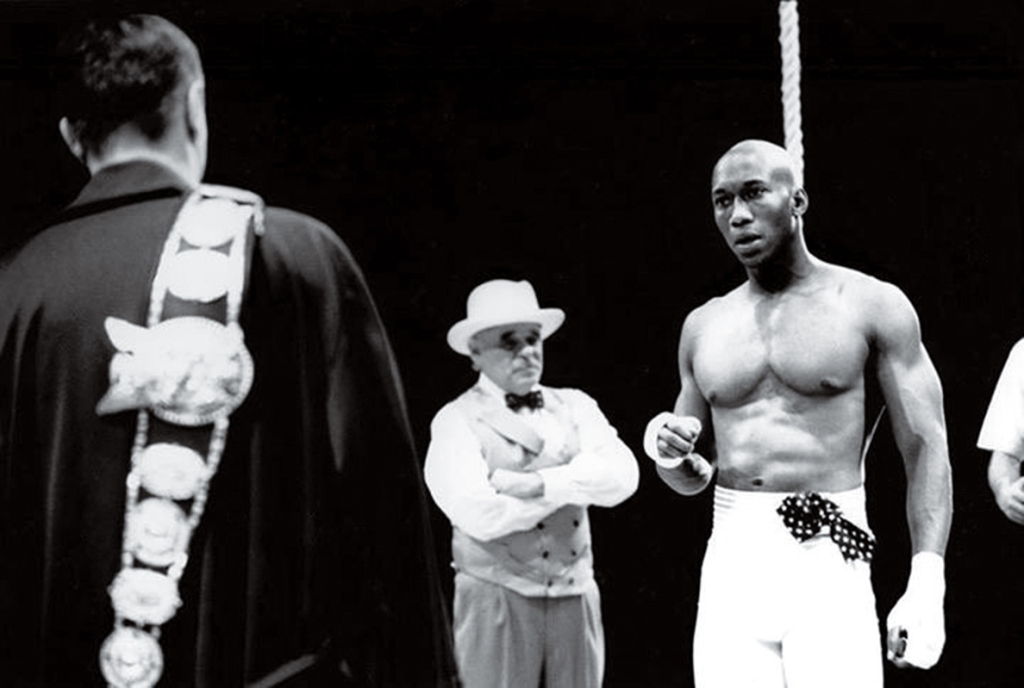 Mahershala in the play The Great White Hope. Year 2000. credit: Scott Suchman/Arena Stage, Washington DC