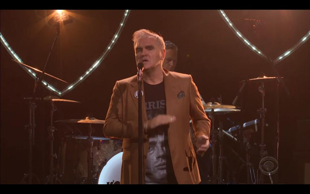 Watch Morrissey Cover the Pretenders' 'Back on the Chain Gang' on 'Corden'