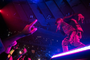 046741c8307f Travis Scott performs during his Astroworld tour at Madison Square Garden  in New York.