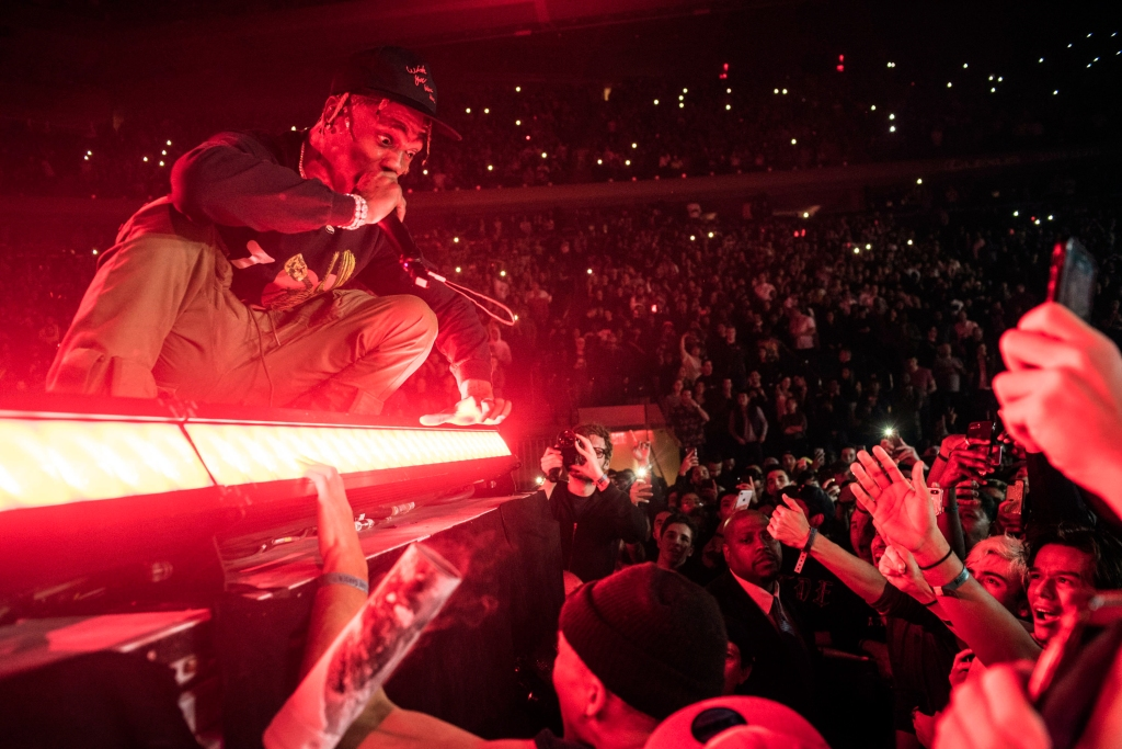 TRAVIS SCOTT - ASTROWORLD - MSG 11/27 - SACHA LECCA