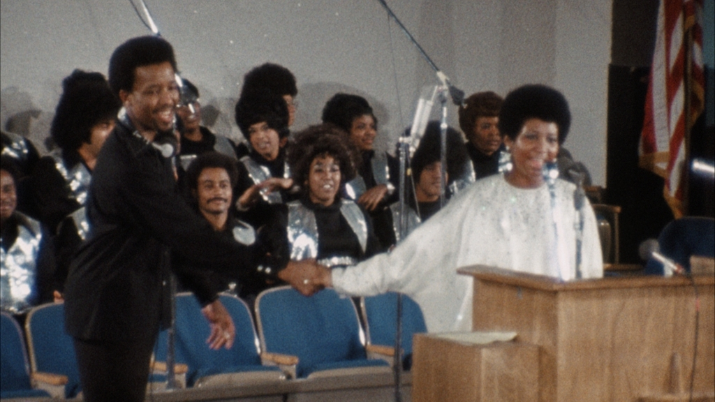 "Aretha Franklin in ""Amazing Grace."" Photo: Liquid Soul"