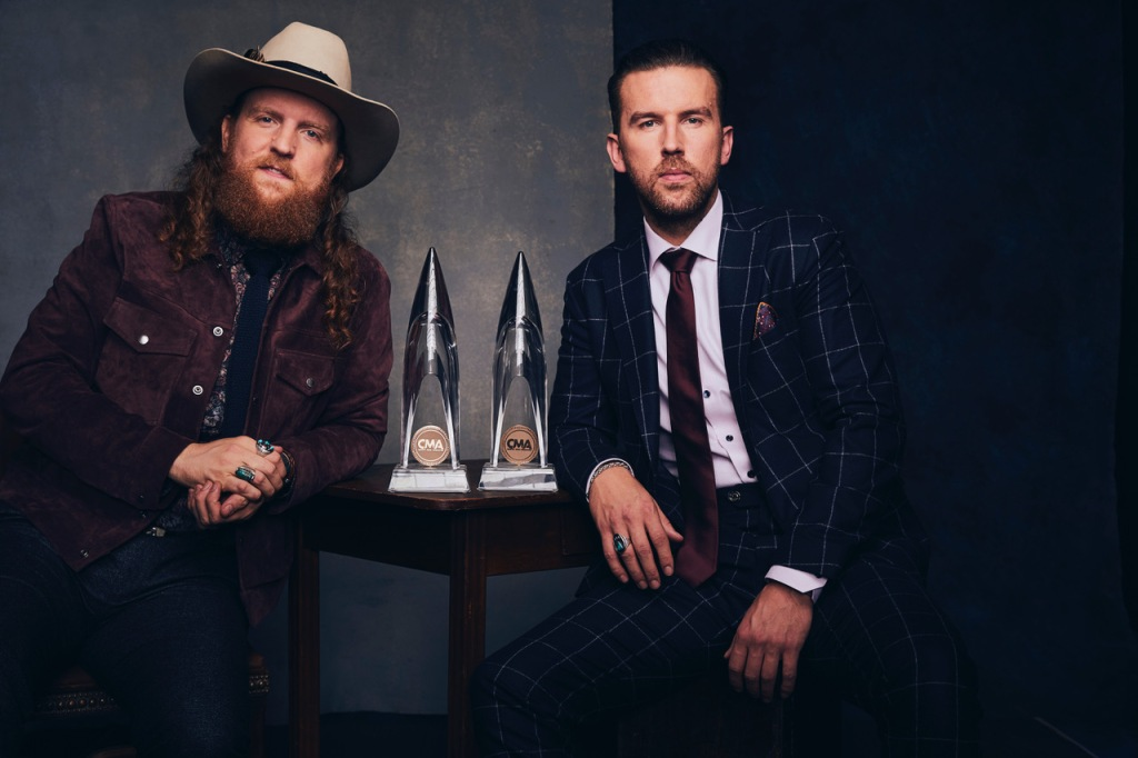 Brothers Osborne collected their third consecutive CMA Award for Vocal Duo of the Year. (Credit: @greyland)