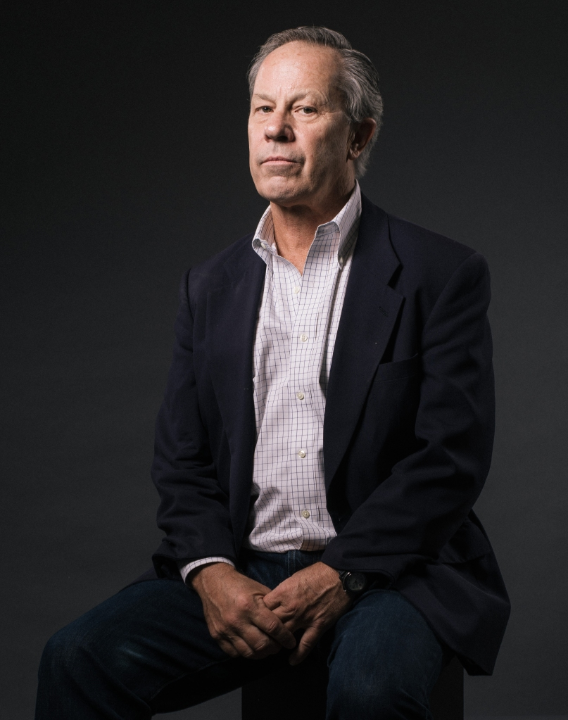 "Ben Bradlee Jr., former deputy managing editor of the Boston Globe, poses for a portrait during press day for ""Spotlight"" at The Four Seasons, in Los Angeles. A bolt of inspiration to a beleaguered profession, ""Spotlight"" is a rigorous depiction of investigative journalism and a celebration of an increasingly endangered species of newsgathering. Bradlee Jr. is portayed by actor John Slattery in the movie opening in U.S. theaters on Friday, Nov. 6, 2015APTOPIX ""Spotlight"" Portrait Session, Los Angeles, USA - 4 Nov 2015"