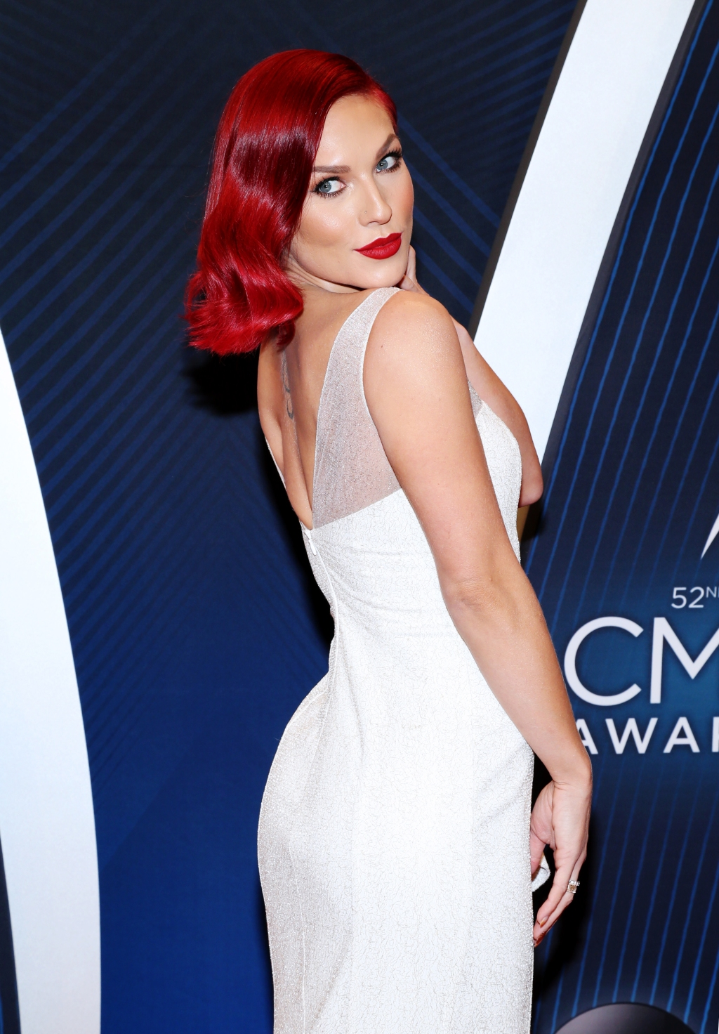 'Dancing With the Stars' instructor Sharna Burgess presented an honor with her dancing partner, DJ Bobby Bones.