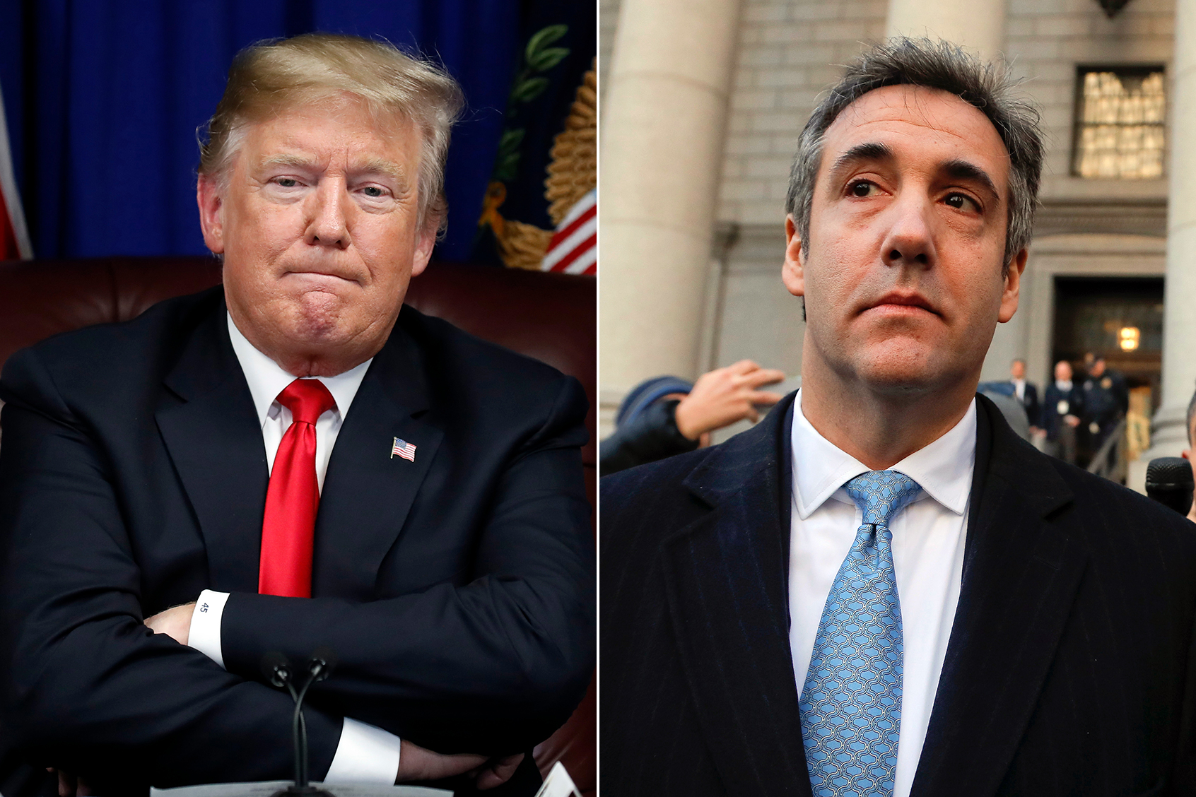 Image result for cohen trump