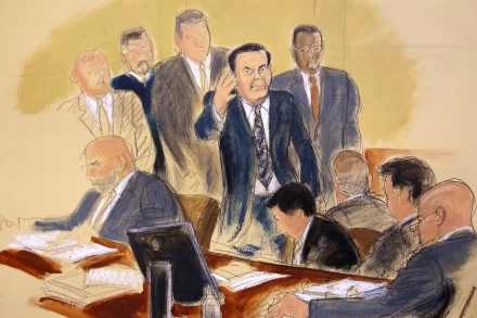 El Chapo Trial Day 1: Defense Claims Guzman Is Middle
