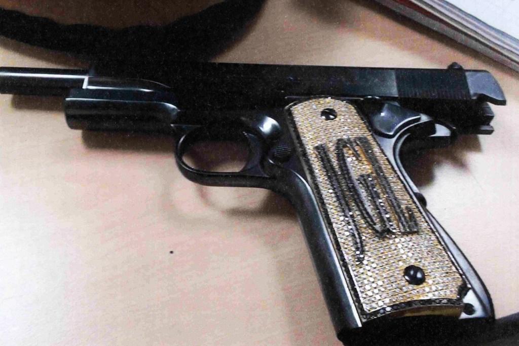 El Chapo Trial Evidence, Diamond Gun, 2018