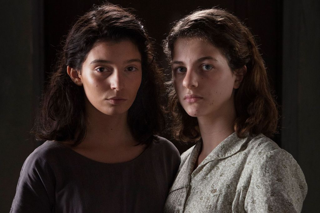 Teenage Lila and Lenu in My Brilliant Friend.