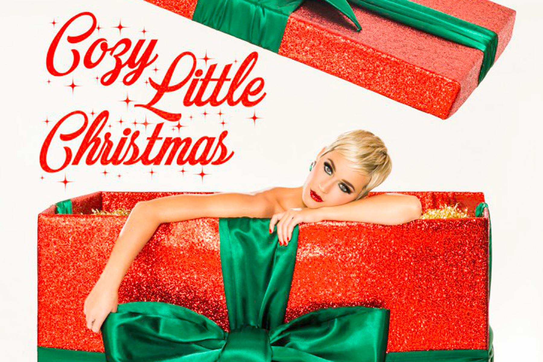Resultado de imagen de katy perry cozy little christmas