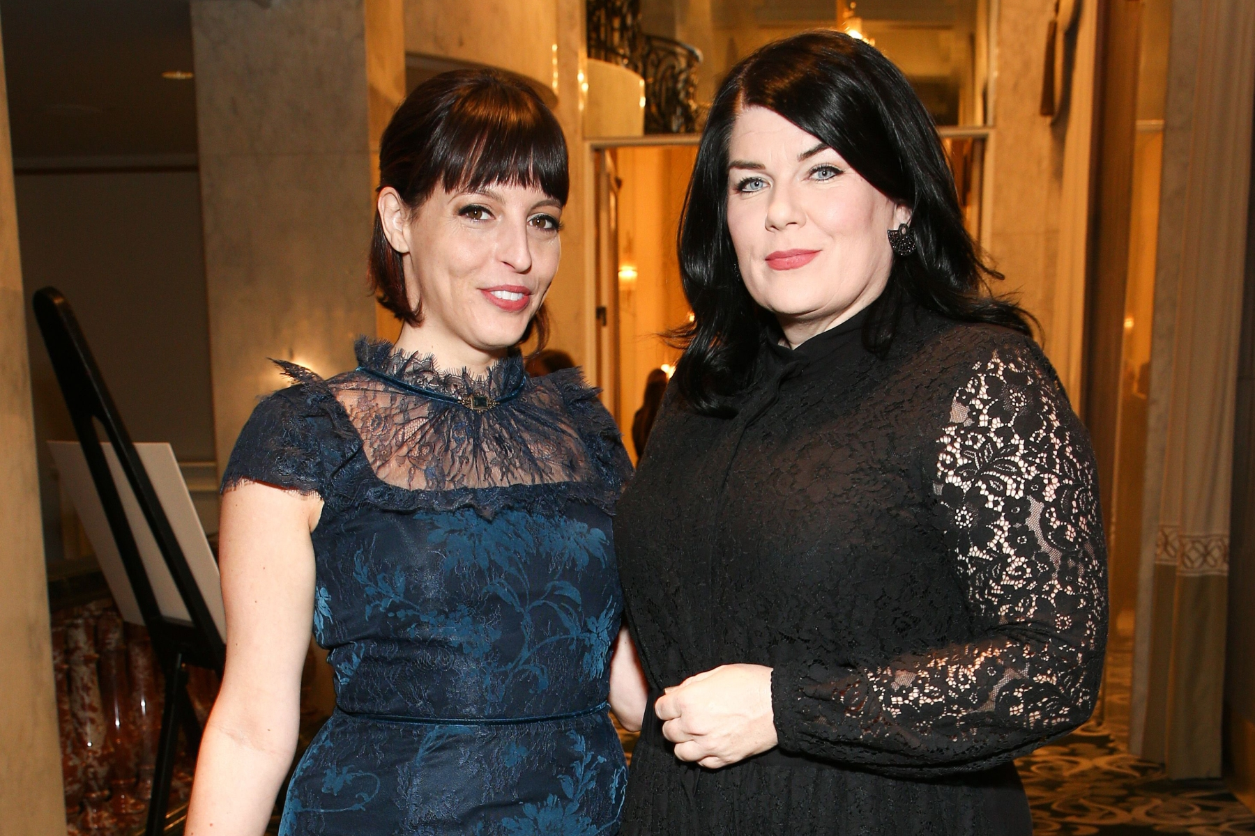Georgia Hardstark and Karen KilgariffPEN America Gala, Inside, Los Angeles, USA - 02 Nov 2018