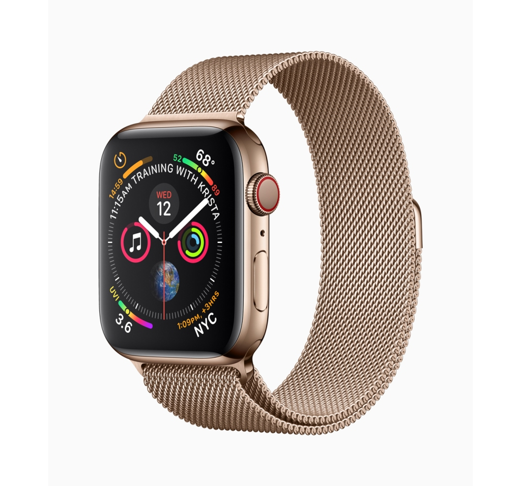 Thinner, smoother and faster than its previous iteration, the Apple Watch Series 4 makes the strongest case yet for putting a smartwatch on your wrist. With an array of fitness and health monitors, Series 4 feels like more of a tool for real life. apple.com $399