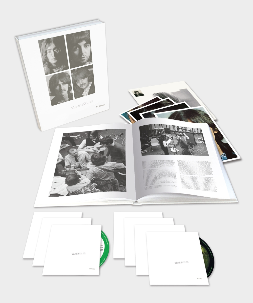Four discs of demos in this stunning reissue take you inside the -creative frenzy that fueled the Beatles' legendary 1968 double album. thebeatlesstore.com $160
