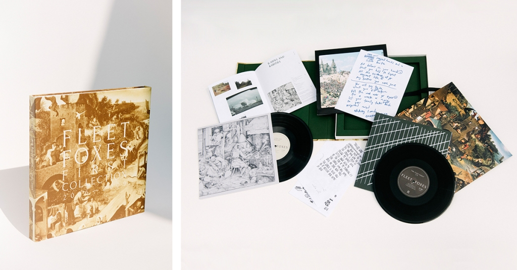 "When Fleet Foxes' self-titled debut arrived a decade ago, it struck like a bright ray of harmonic sunshine. This gorgeous vinyl box set collects that album, two excellent early EPs and a new B-sides and rarities set, along with photos, art, handwritten lyrics and more that shed light on the band's origins. It's a perfect gift for any 2000s indie-rock fan who still knows the words to ""White Winter Hymnal.""  megamart.subpop.com $65"