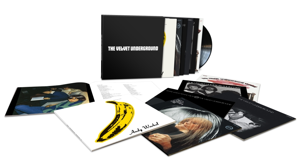 Every LP from Lou Reed's world-changing band collected in a beautiful vinyl set, along with singer Nico's 1967 album, Chelsea Girl. velvetundergroundmusic.com $180