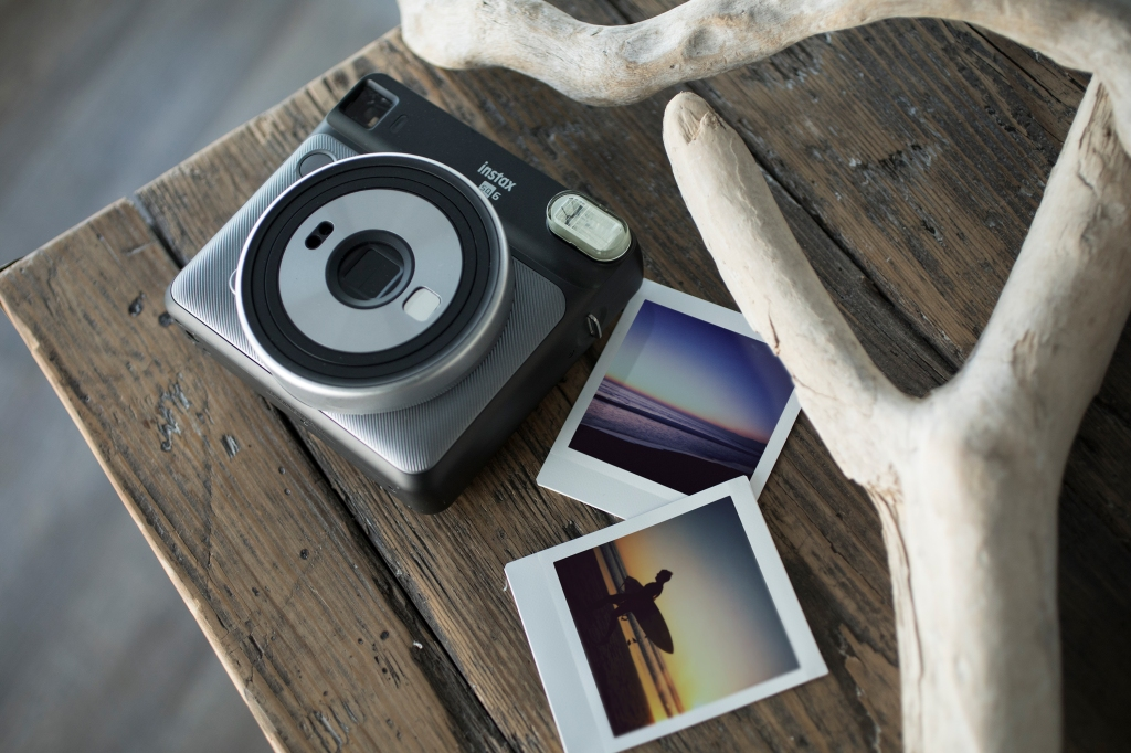 Document a New Year's party with the Fujifilm Instax Square SQ6, an analog camera that makes square printouts like old Polaroids. fujifilmusa.com $130
