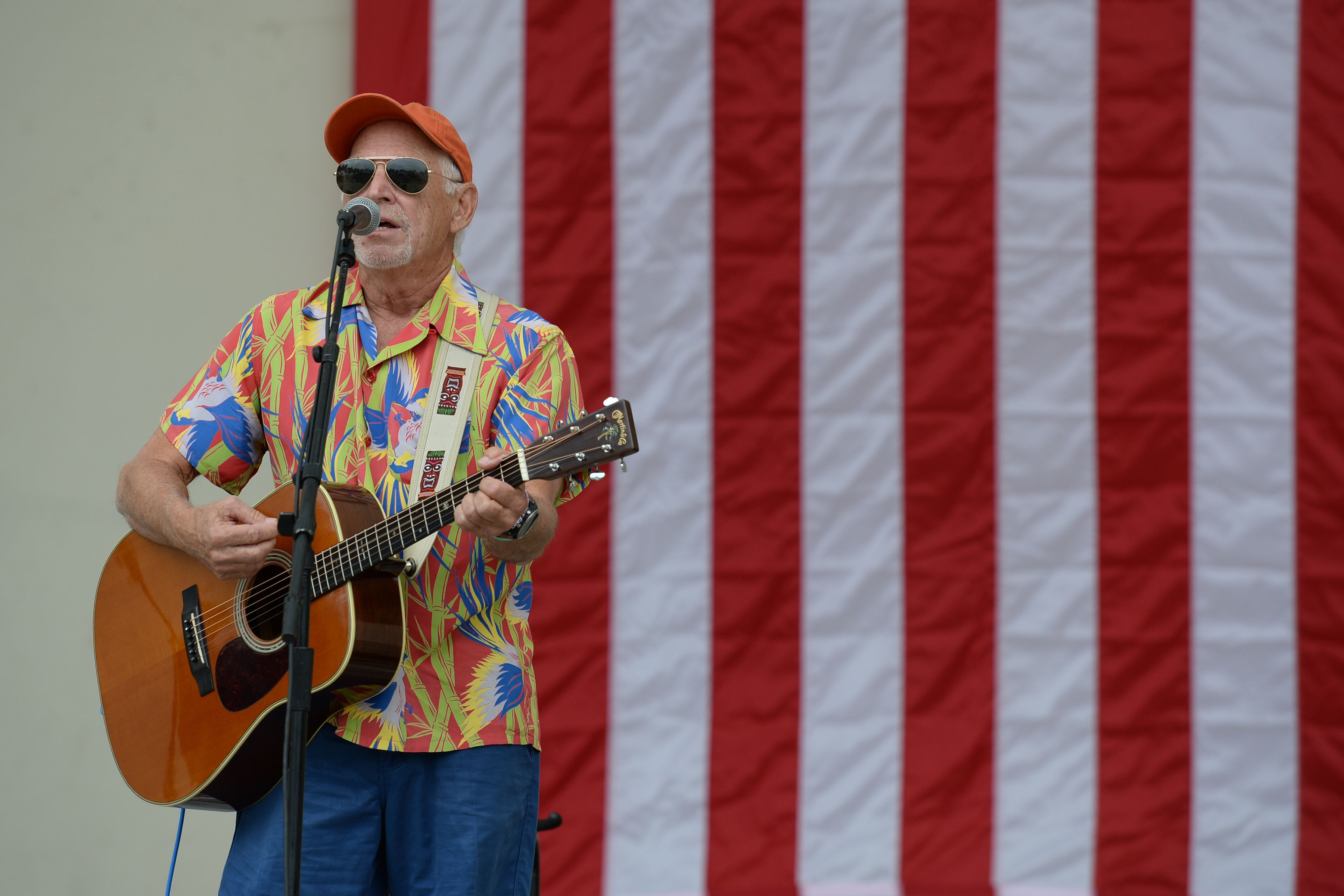 Jimmy Buffett Takes Aim at Republicans During Florida Democratic Rally